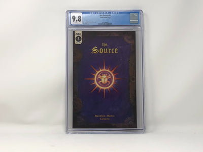 CGC Graded - The Source #3 - 9.8