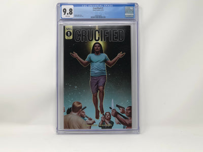 CGC Graded - Crucified #1 - 9.8