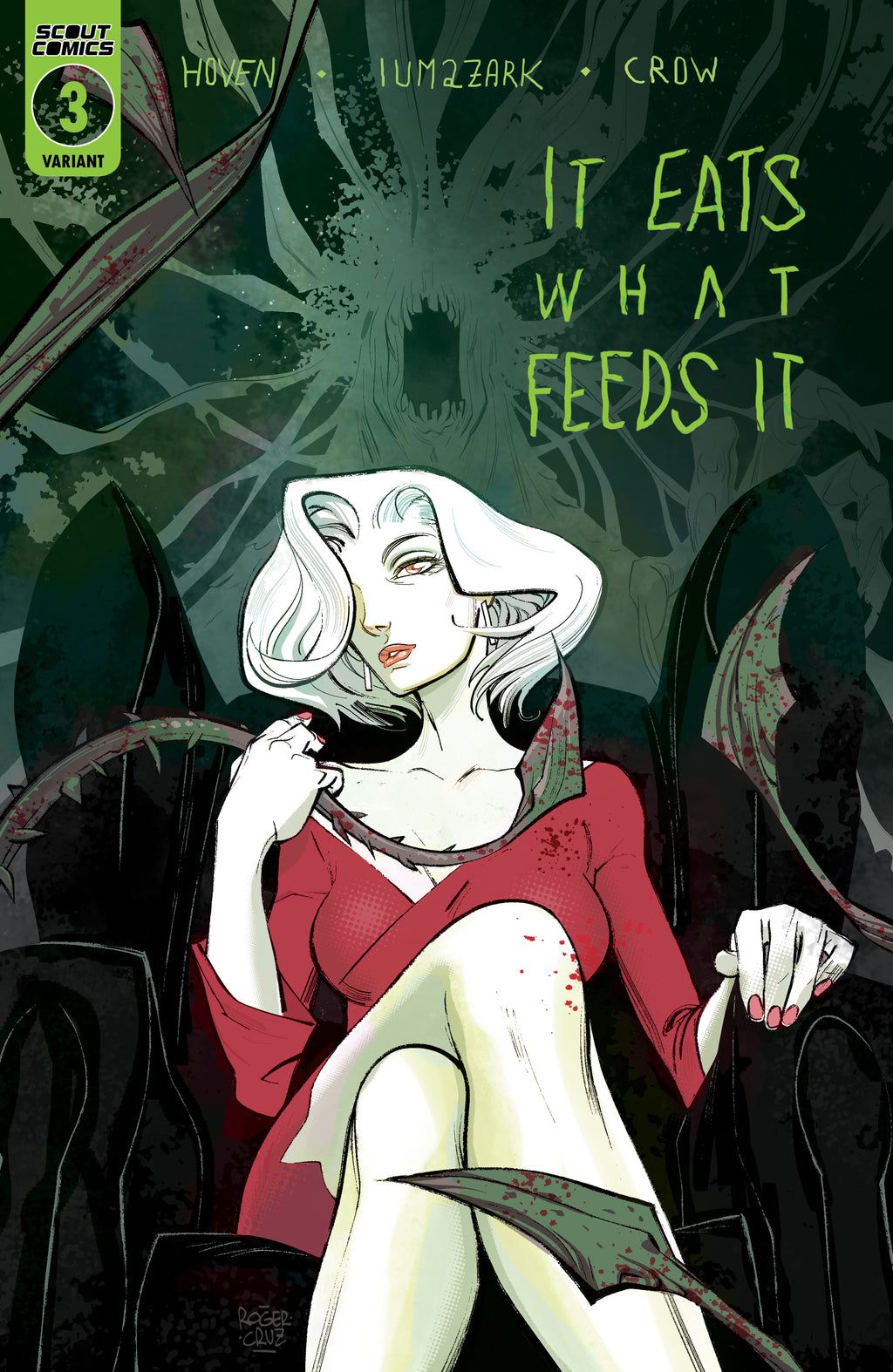 It Eats What Feeds It #3 - Webstore Exclusive Cover