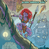 Kyrra Alien Jungle Girl - Trade Paperback