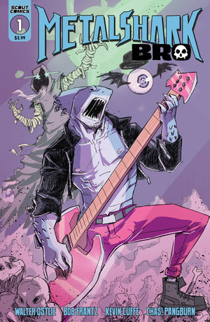 Metalshark Bro #1 - DIGITAL COPY