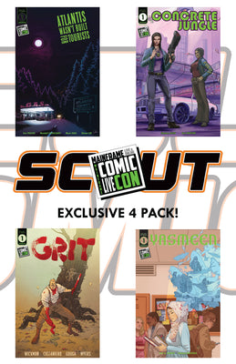 Mainframe Comic Con Exclusive 4 Pack - 100 sets available