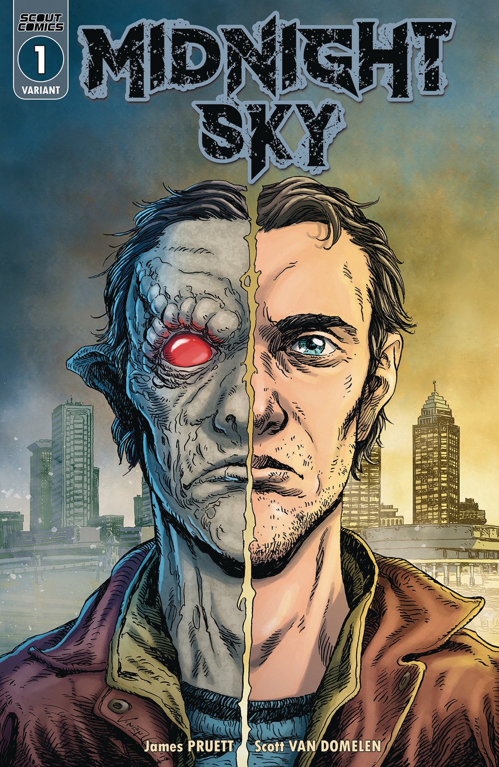 Midnight Sky #1 - Cover B