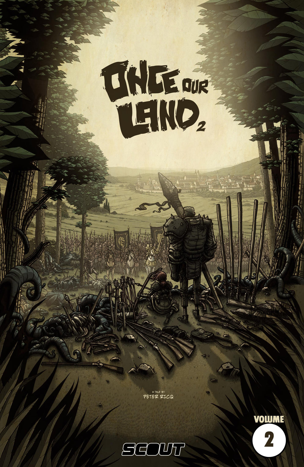 Once Our Land Book Two - Trade Paperback - DIGITAL COPY