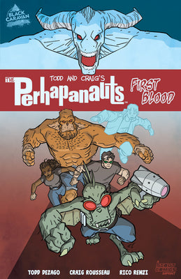 The Perhapanauts: First Blood - Trade Paperback - DIGITAL COPY