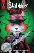 Stabbity Ever After Wonderland #1 - Mad Hatter Variant Cover