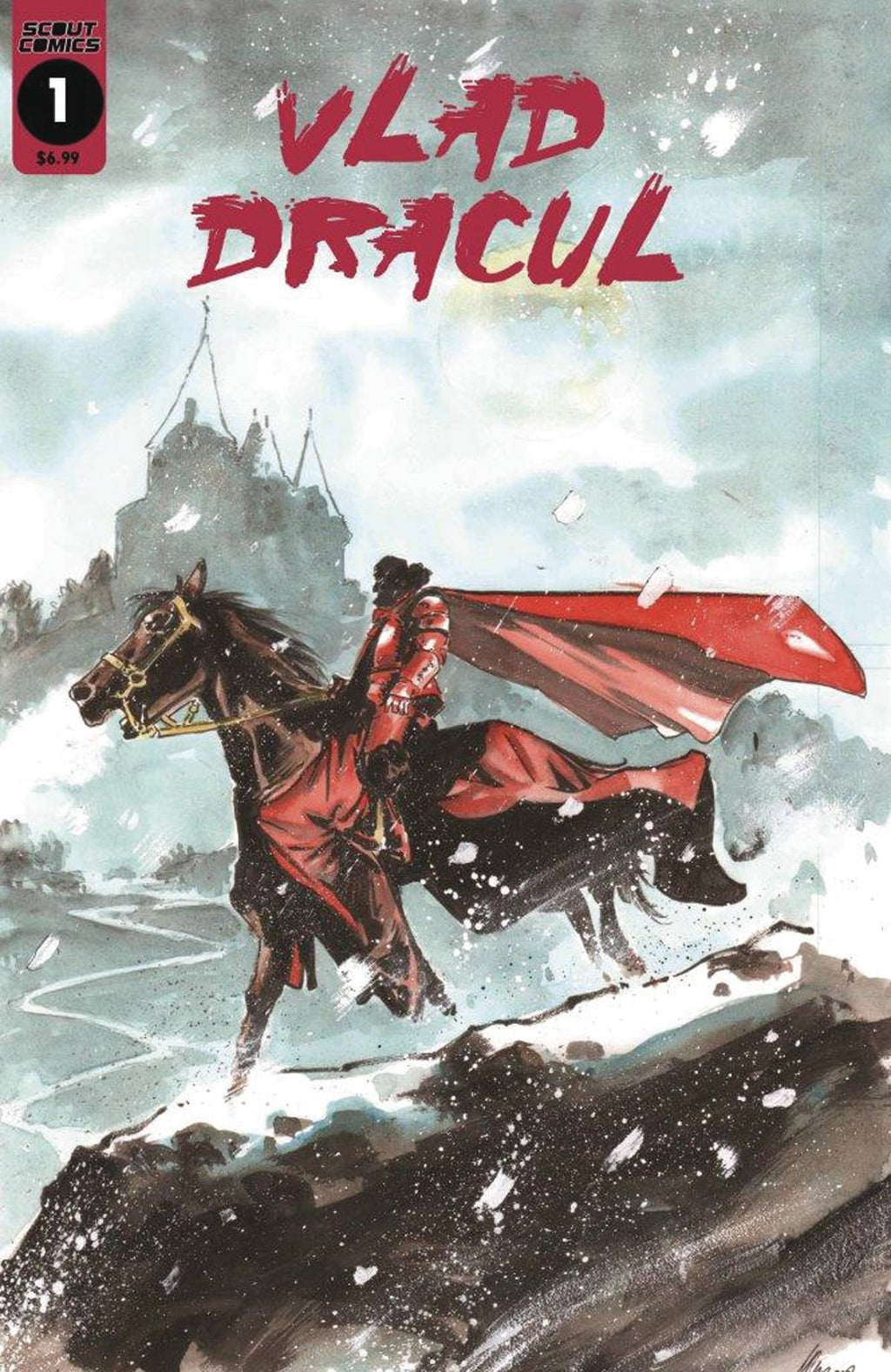 Vlad Dracul #1 - DIGITAL COPY