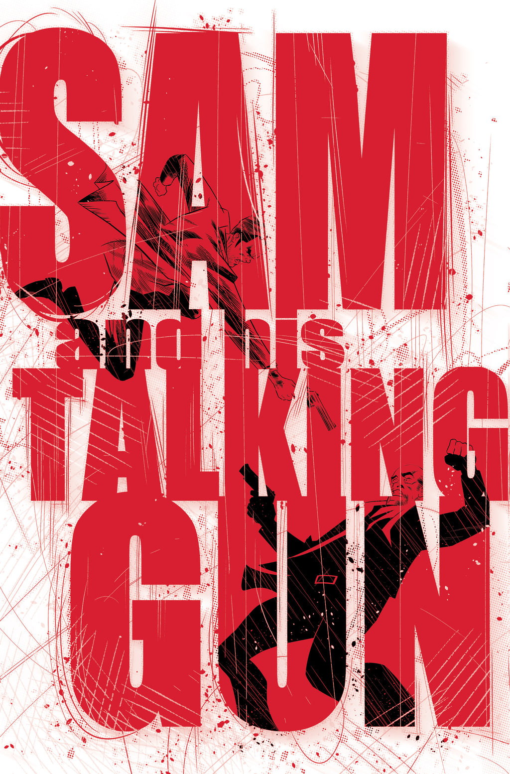 Sam And His Talking Gun #1 - Space Cadets Webstore Cover