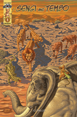 Sengi And Tembo #1 - Webstore Exclusive Cover