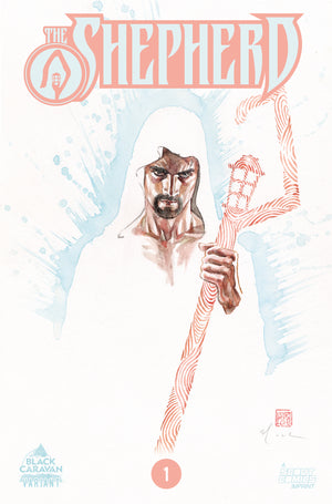 The Shepherd #1 - Retailer Incentive Cover