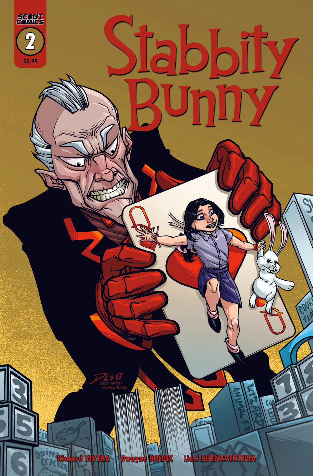 Stabbity Bunny #2 - 2nd Print