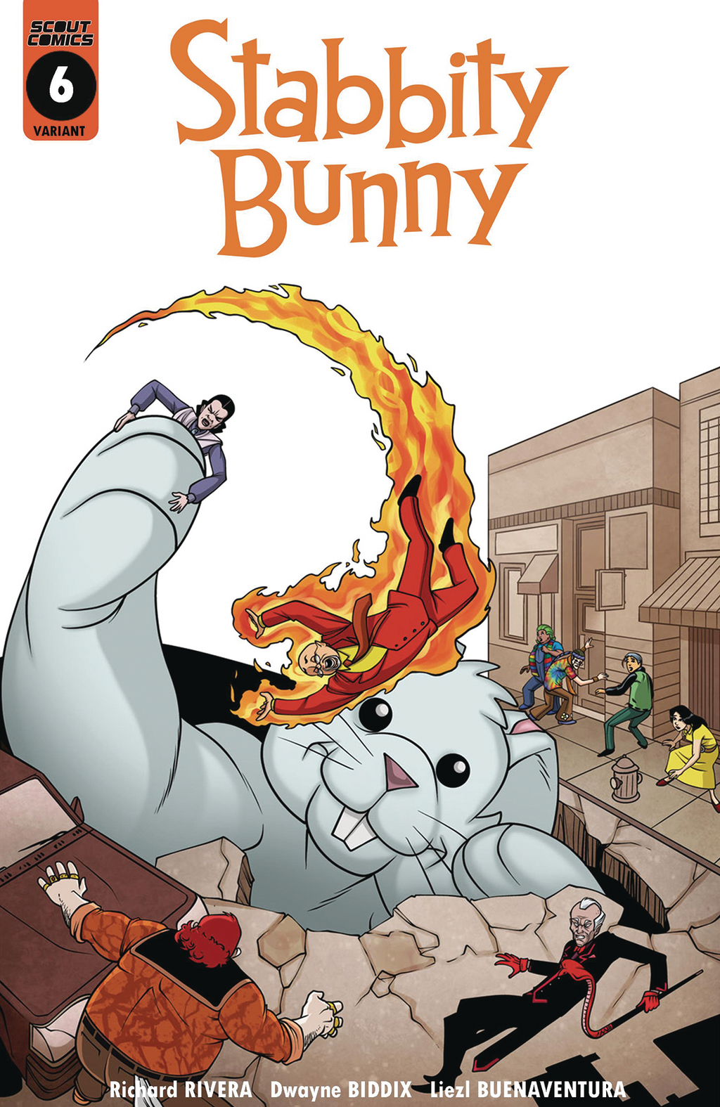 Stabbity Bunny #6 - Retailer Incentive Cover