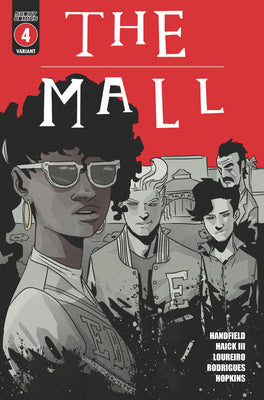 The Mall #4 - Webstore Exclusive Cover