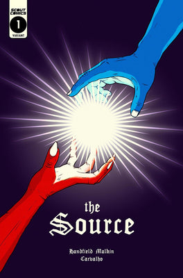 The Source #1 - Glow In The Dark - Retailer Incentive Cover