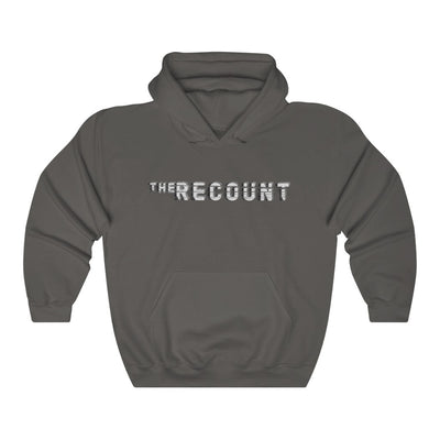 The Recount (Grey Logo Design) - Heavy Blend™ Hooded Sweatshirt