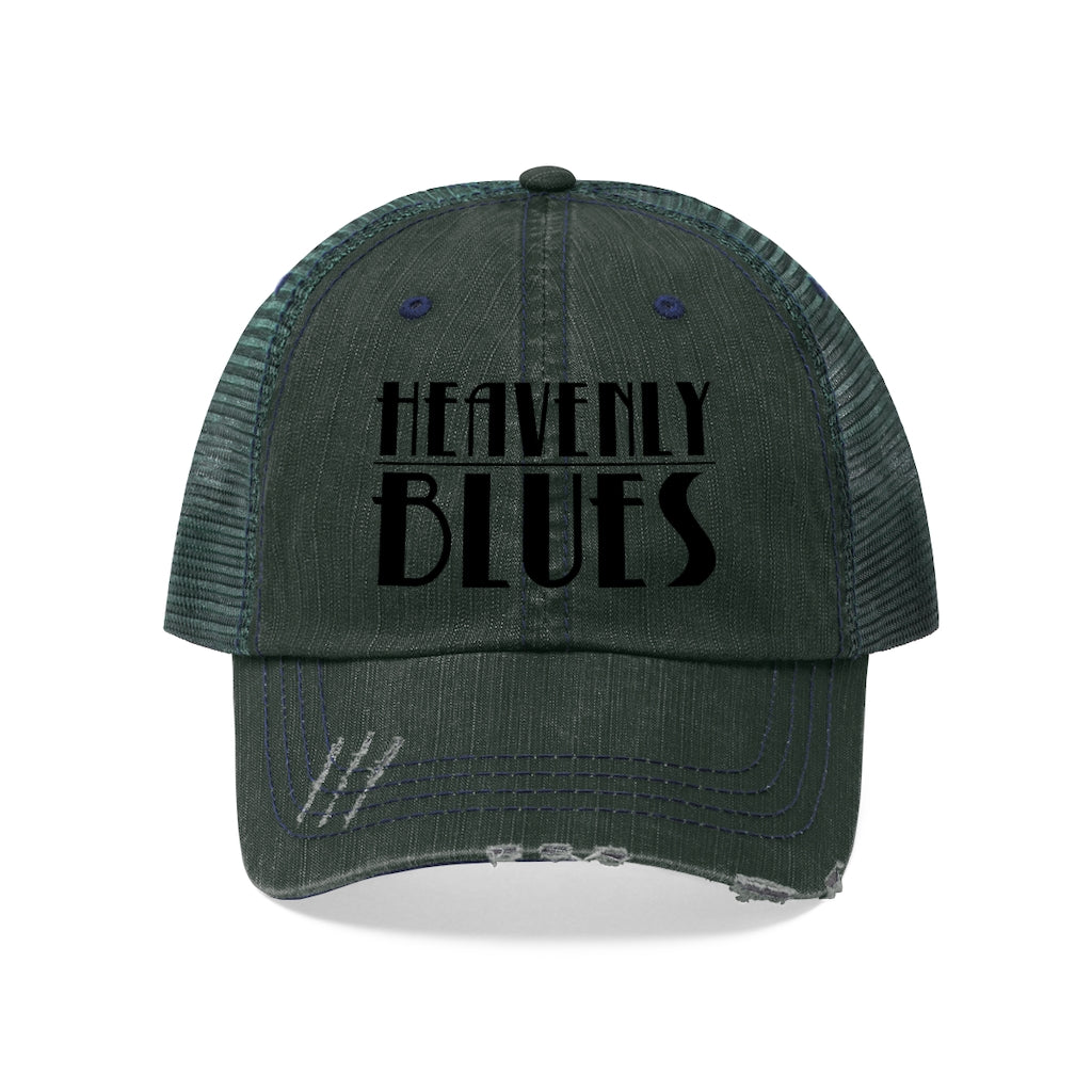 Heavenly Blues (Logo Design) - Unisex Trucker Hat