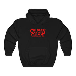 Children Of The Grave (Logo Design) - Heavy Blend™ Hooded Sweatshirt