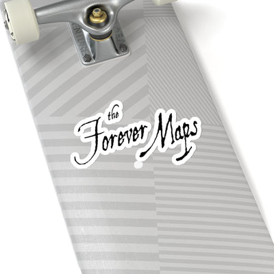 Forever Maps (Logo Design) - Kiss-Cut Stickers