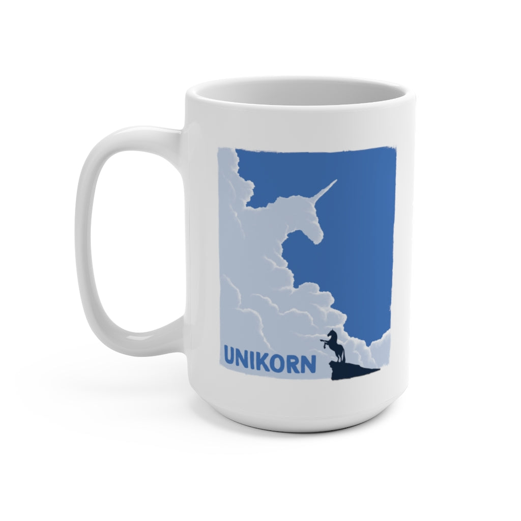 Unikorn (Cover Design) - Coffee Mug 15oz