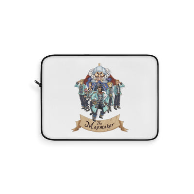 The Mapmaker (Design 1) - White Laptop Sleeve