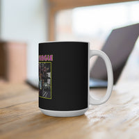 Concrete Jungle (Design One) - Black Coffee Mug 15oz