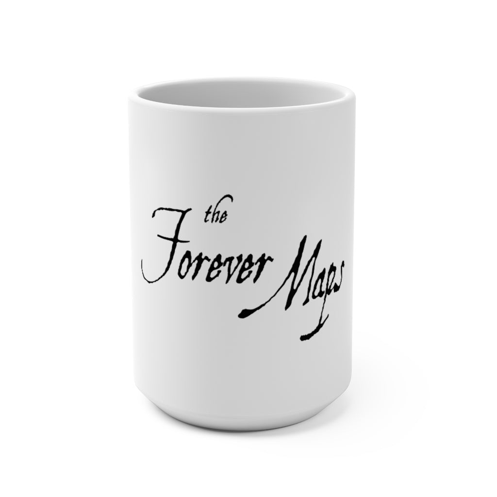 Forever Maps (Logo Design) - White Coffee Mug 15oz
