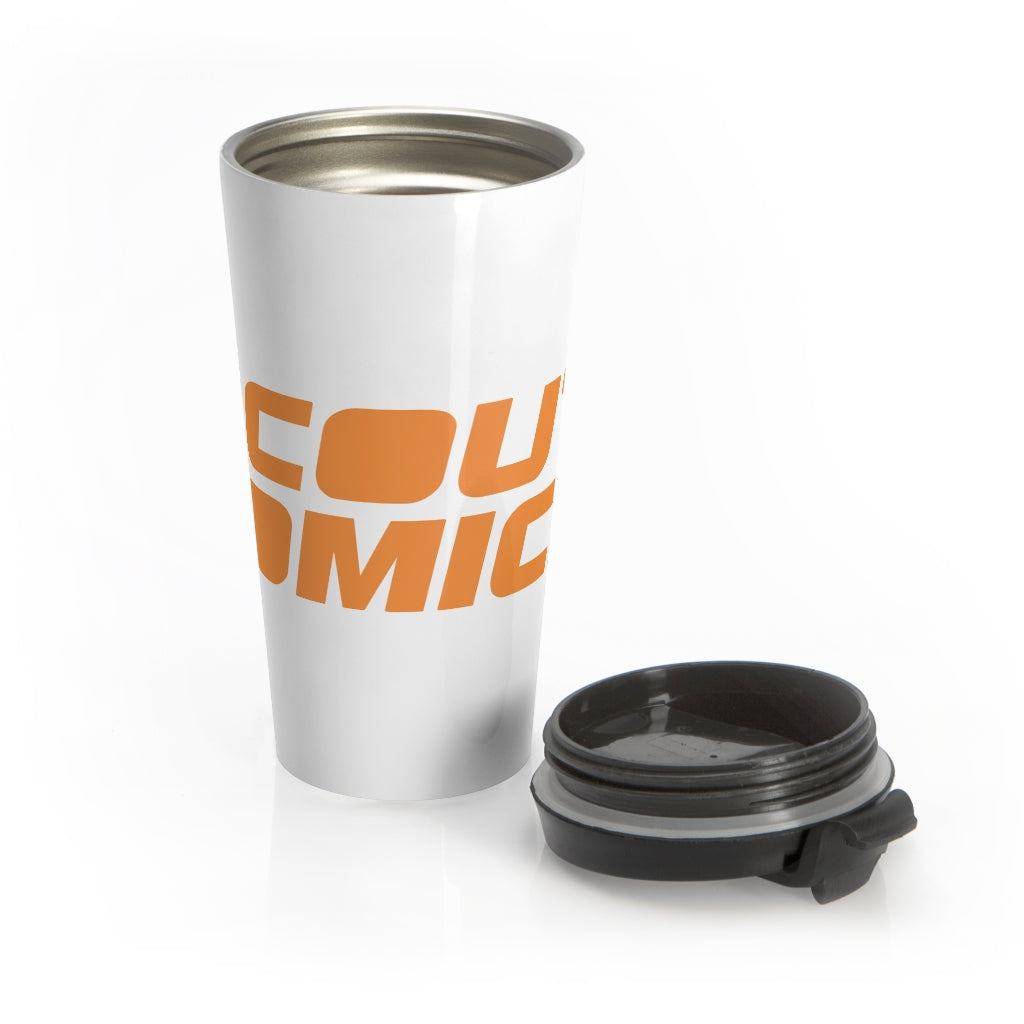 Scout Comics (Orange Logo) - Stainless Steel Travel Mug