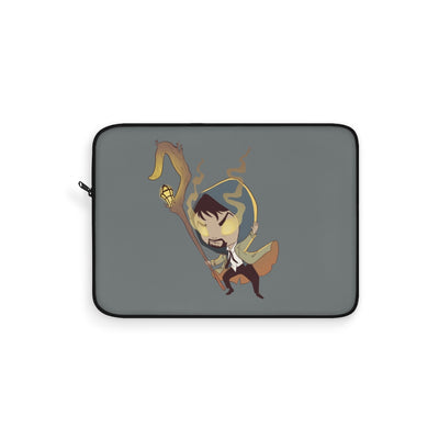 The Shepherd (Chibi Shepherd Design) - Grey Laptop Sleeve