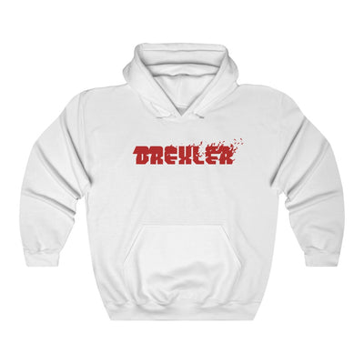 Drexler (Red Logo Design) - Heavy Blend™ Hooded Sweatshirt