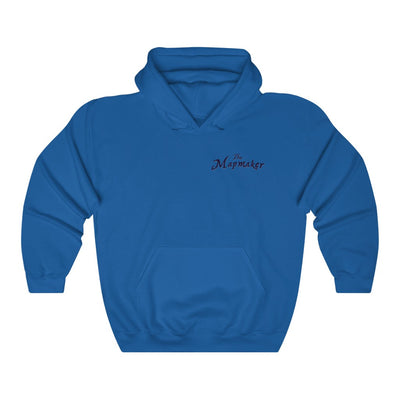 The Mapmaker (Design 2) - Heavy Blend™ Hooded Sweatshirt
