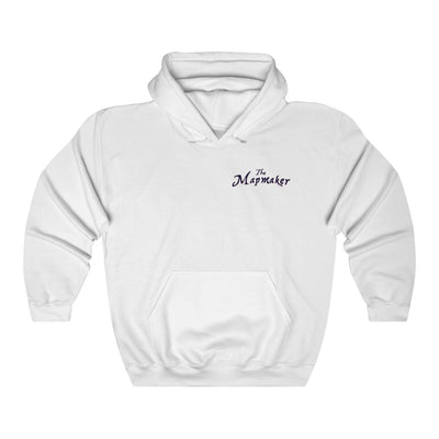 The Mapmaker (Design 1) - Heavy Blend™ Hooded Sweatshirt