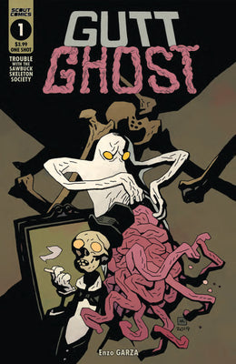 Gutt Ghost Trouble With The Sawbucket Skeleton Society #1