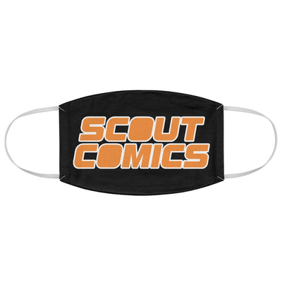 Scout Comics (Orange Logo) - Fabric Face Mask