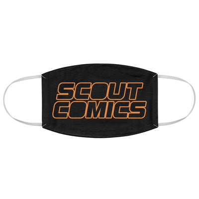 Scout Comics (Black Logo) - Fabric Face Mask