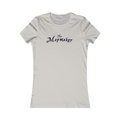 The Mapmaker (Design 2) - Women's Favorite Tee