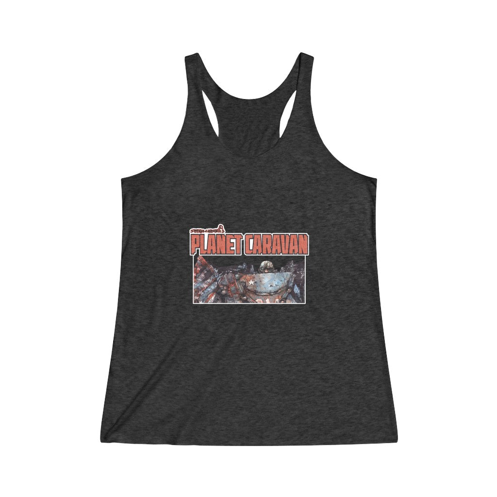 Scout Comics (Issue 1 Design) - Women's Tri-Blend Racerback Tank