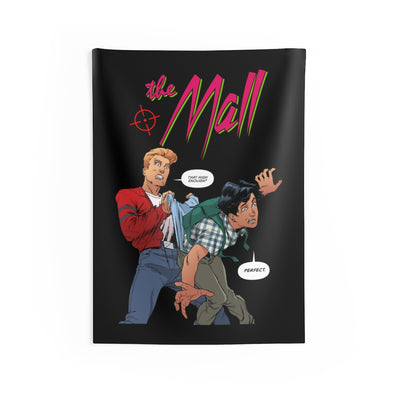The Mall (Wedgie Design) - Indoor Wall Tapestries