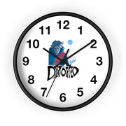Distorted (Promo 2 Design) - Wall Clock