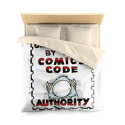 The Adventures of Byron  - (Stamp Design) - Microfiber Duvet Cover