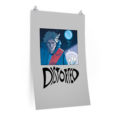 Distorted (Promo 1 Design) - Poster