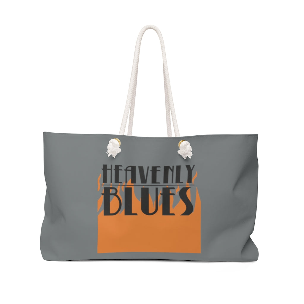 Heavenly Blues (Flame Logo) - Weekender Bag