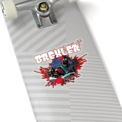 Drexler (Bullet Hole Design) - Kiss-Cut Stickers