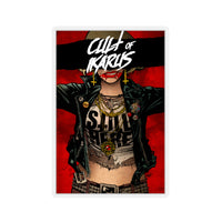 Cult Of Ikarus (Issue One Design) - Kiss-Cut Stickers