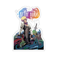 By The Horns (Issue One Design) - Kiss-Cut Stickers