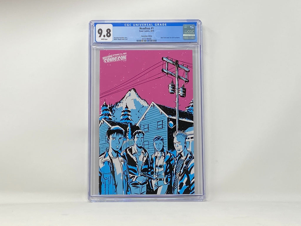 CGC Graded - Headless #1 - NYCC Exclusive Cover - 9.8