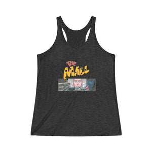 The Mall (Safe Design) - Women's Tri-Blend Racerback Tank