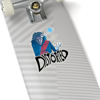 Distorted (Promo 2 Design) - Kiss-Cut Stickers