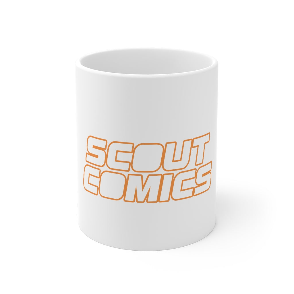 Scout Comics (White Logo) - 11oz Coffee Mug