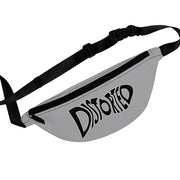 Distorted (Logo Design) - Grey Fanny Pack