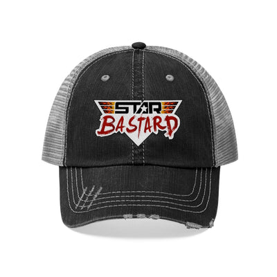 Star Bastard (Logo Design) - Unisex Trucker Hat